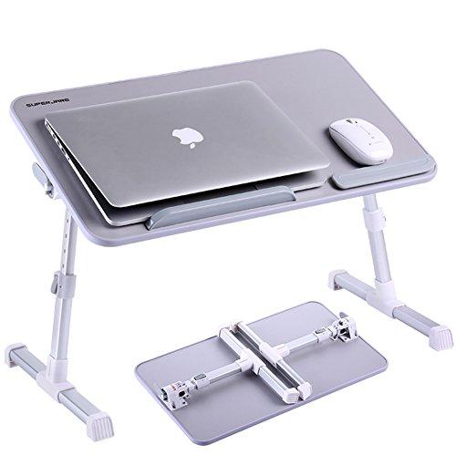 Adjustable Laptop Table Superjare Portable Standing Desk