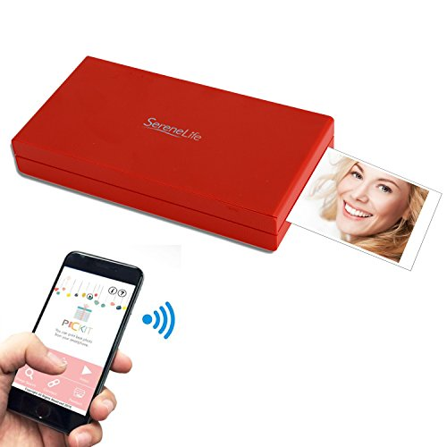 instant photo printer for iphone serenelife portable instant mobile photo printer 17325
