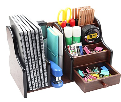 desk organizer shelf pag office supplies wood desk organizer book shelf pen 14685